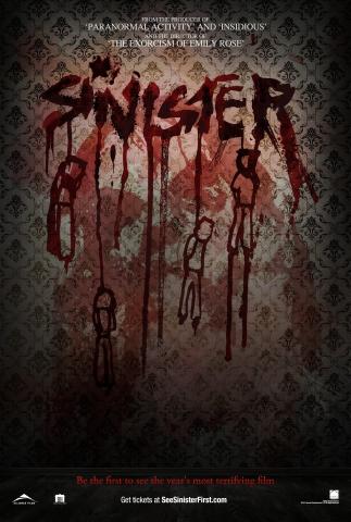 плакат фильма постер Синистер