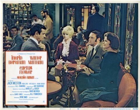 плакат фильма постер Цветок кактуса