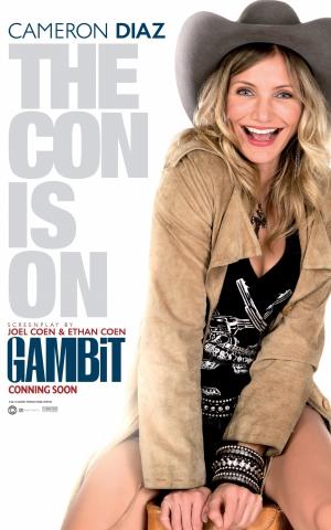 плакат фильма характер-постер Гамбит