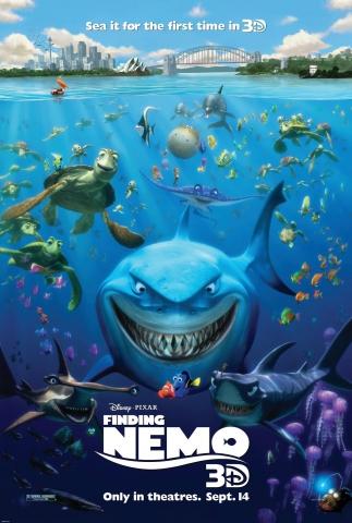 плакат фильма постер В поисках Немо