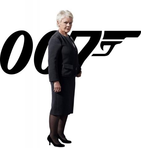 промо-слайды 007 Координаты Скайфолл Джуди Денч,