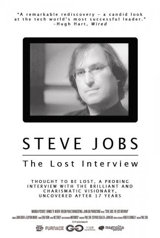 плакат фильма постер Стив Джобс. Потерянное интервью