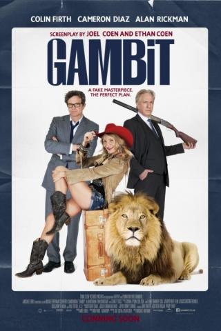плакат фильма постер Гамбит