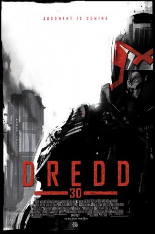 плакат фильма арт-постеры Судья Дредд 3D