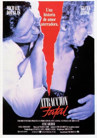 плакат фильма постер Роковое влечение