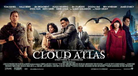 плакат фильма характер-постер баннер Облачный атлас