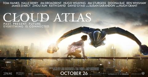 плакат фильма баннер Облачный атлас
