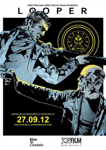 плакат фильма арт-постеры Петля времени