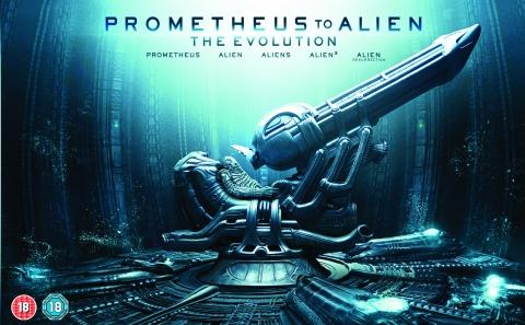 плакат фильма Blu-Ray баннер Прометей