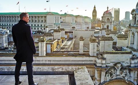 кадры из фильма 007 Координаты Скайфолл Дэниел Крэйг,