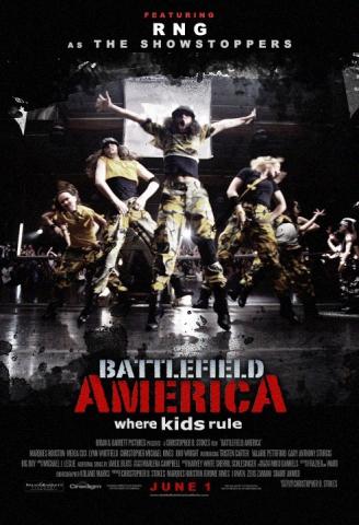 плакат фильма постер Недетские танцы