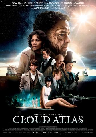 плакат фильма постер Облачный атлас