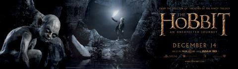 плакат фильма характер-постер баннер Хоббит: Нежданное путешествие