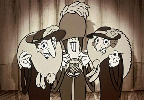 кадры из фильма Трио из Бельвилля