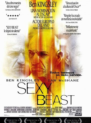 плакат фильма Сексуальная тварь
