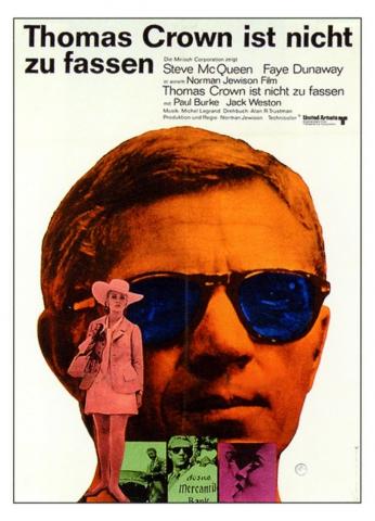 плакат фильма Афера Томаса Крауна