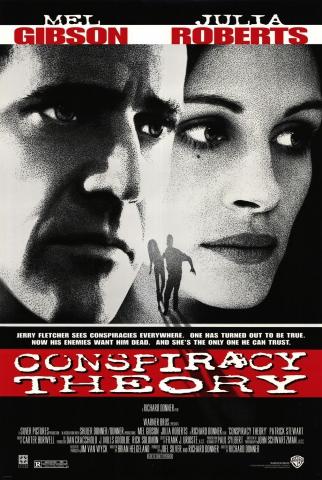 плакат фильма постер Теория заговора