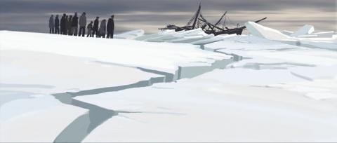 кадр №138964 из фильма Долгий путь на север*