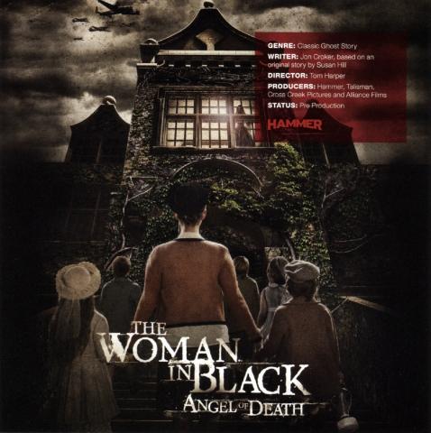 плакат фильма сейлс-арт Женщина в черном: Ангелы смерти