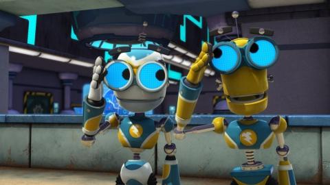 кадр №139789 из фильма Болт и Блип спешат на помощь 3D