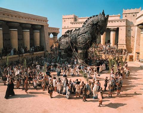 кадры из фильма Троя