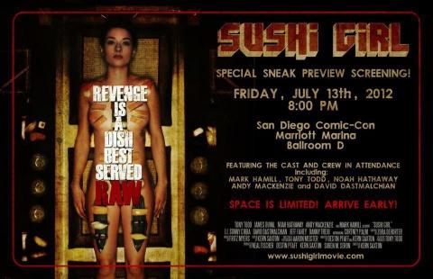 плакат фильма биллборды Суши гёл