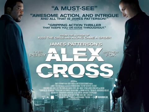 плакат фильма биллборды Я, Алекс Кросс