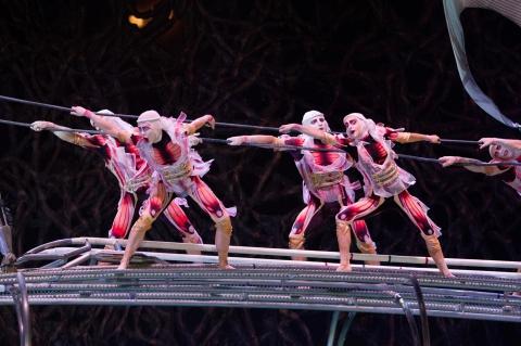 кадр №142999 из фильма Cirque du Soleil: Сказочный мир