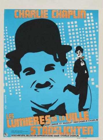 плакат фильма Огни большого города