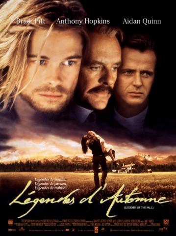 плакат фильма постер Легенды осени