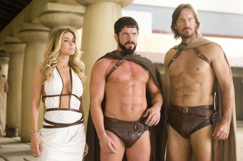 кадр №14429 из фильма Знакомство со спартанцами