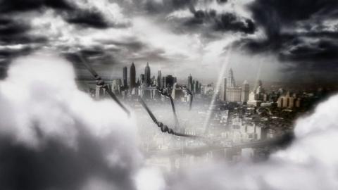 кадр №144812 из фильма Небесный капитан и мир будущего