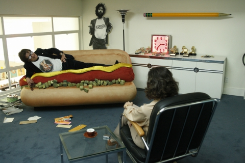 кадры из фильма Умопомрачительные фантазии Чарли Свона-третьего Чарли Шин, Обри Плаза,