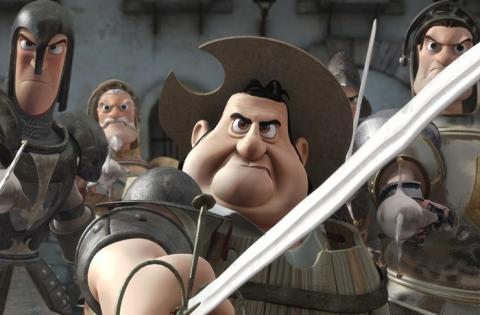 кадры из фильма Дон Кихот