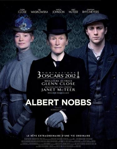 плакат фильма постер Таинственный Альберт Ноббс