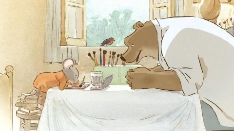 кадр №154987 из фильма Эрнест и Селестина: Приключения мышки и медведя