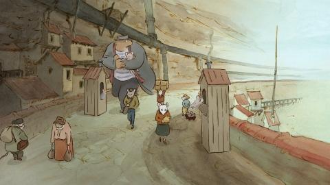 кадр №154991 из фильма Эрнест и Селестина: Приключения мышки и медведя