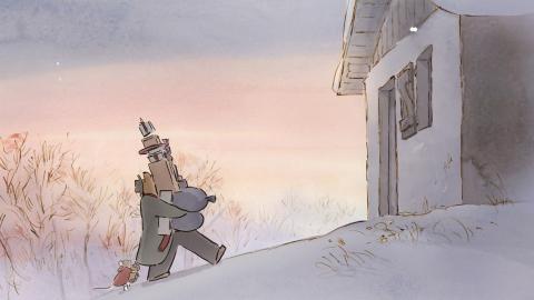 кадр №154996 из фильма Эрнест и Селестина: Приключения мышки и медведя
