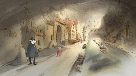кадр №154997 из фильма Эрнест и Селестина: Приключения мышки и медведя