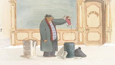 кадр №154999 из фильма Эрнест и Селестина: Приключения мышки и медведя