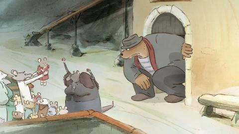 кадр №155000 из фильма Эрнест и Селестина: Приключения мышки и медведя