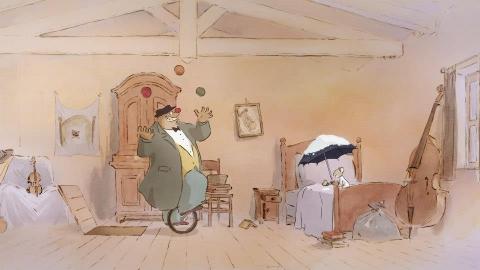 кадр №155001 из фильма Эрнест и Селестина: Приключения мышки и медведя