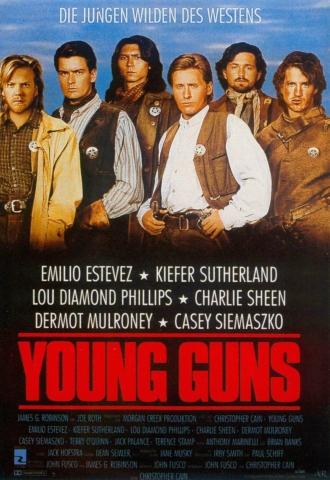 плакат фильма постер Молодые стрелки