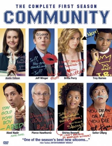 плакат фильма DVD Сообщество