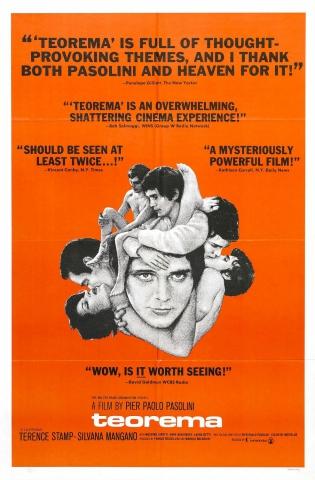 плакат фильма постер Теорема