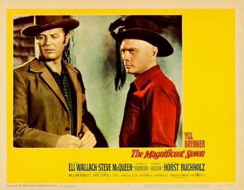 плакат фильма постер Великолепная семерка
