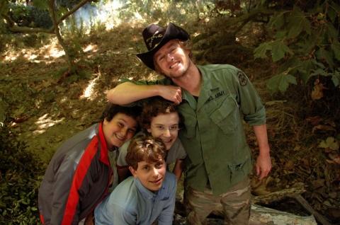кадр №15571 из фильма Школа выживания