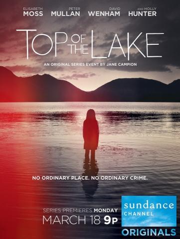 плакат фильма постер Вершина озера