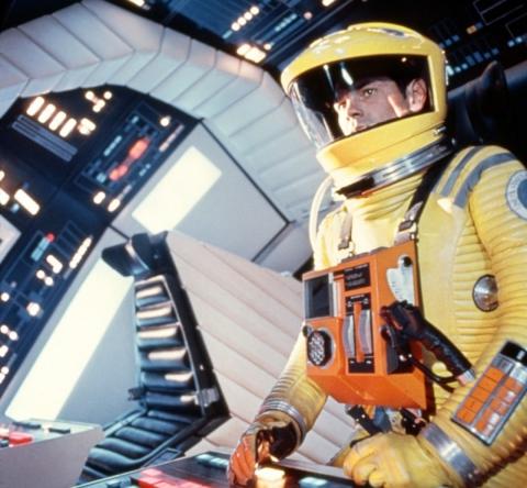 кадры из фильма 2001: Космическая одиссея Кир Дюллеа,