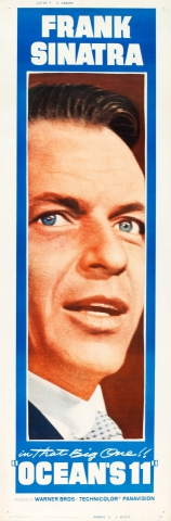 плакат фильма баннер Одиннадцать друзей Оушена